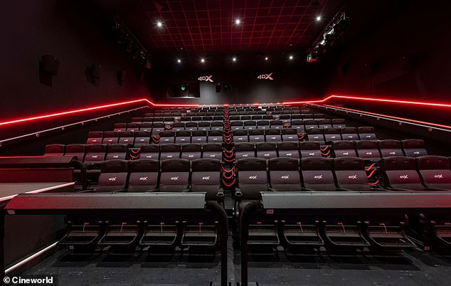 Cineworld reopens today with immersive '4DX' screenings