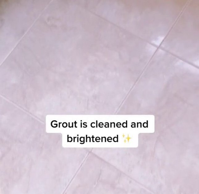 Mum gets floors sparkling with homemade cleaner that cost just a few pounds
