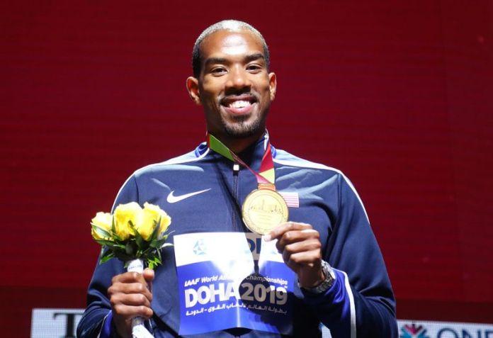 © Reuters. FILE PHOTO: World Athletics Championships - Doha 2019