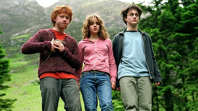 A shot from Harry Potter and the Prisoner of Azkaban, the third film in the successful series based on JK Rowling's books