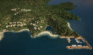 A computer-generated image of the Kassiopi project.