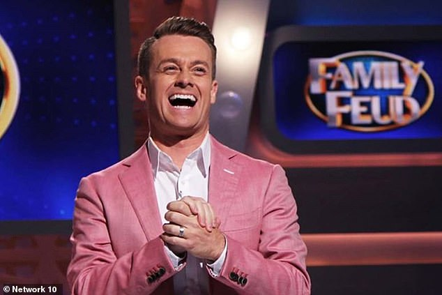 Now that's a blast from the past! Australian TV icon Grant Denyer (pictured) has shared an epic throwback photo to mark his 43rd birthday on Saturday