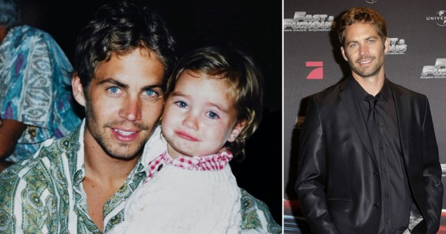Meadow and Paul Walker