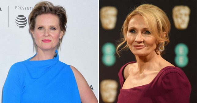 Cynthia Nixon and JK Rowling