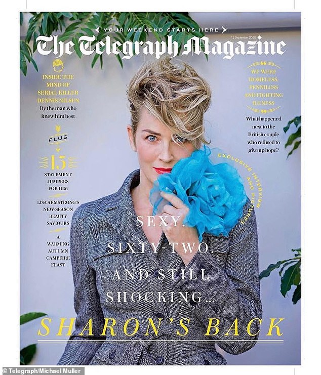 Romance is not what it used to be:Sharon Stone wants to write a book about her 'dismal' online dating experiences. The 62-year-old actress - who has three sons - has experimented with matchmaking app Bumble but doesn't believe it's the right place to look for love because there's no substitute for real 'chemistry', she told the Telegraph Magazine