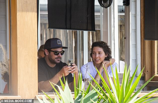 EXCLUSIVE: Zac Efron and his new girlfriendVanessaValladares are concerned about their future together due to COVID-19 restrictions and Zac's work commitments in Hollywood. Pictured together in Lennox Head, NSW, on September 5