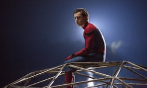 Tom Holland in a scene from Spider-Man: Homecoming