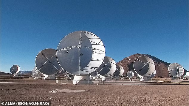 In their study, astronomer Jane Greaves of Wales' Cardiff University and colleagues observed Venus using both the James Clerk Maxwell Telescope at Hawaii's Mauna Kea Observatory and the Atacama Large Millimeter/submillimeter Array in Chile, pictured