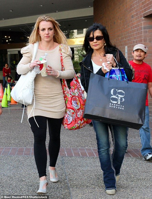 A source told Us Weekly on Monday: 'Lynne wants a care plan established that would transition Britney's personal life out of the conservatorship' (pictured in 2010)