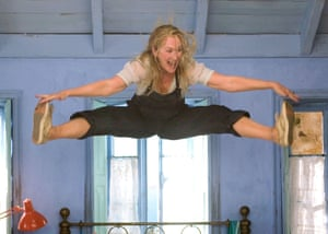 Here I go again … Meryl Streep in Mamma Mia!, Lloyd's first film.