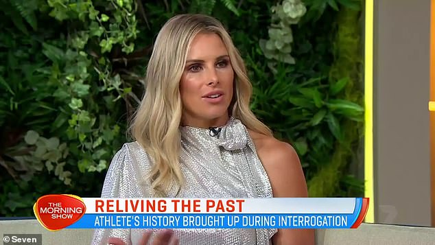 'Everything happens for a reason': Candice Warner has addressed her 2007 'toilet tryst' scandal with Sonny Bill Williams on Tuesday's episode of Channel Seven's The Morning Show