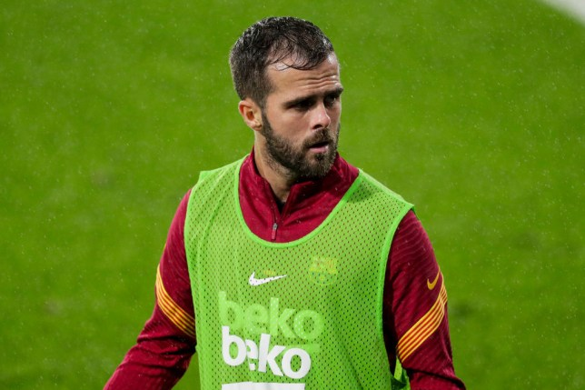 Barcelona midfielder Miralem Pjanic rejected the chance to join Chelsea in the summer
