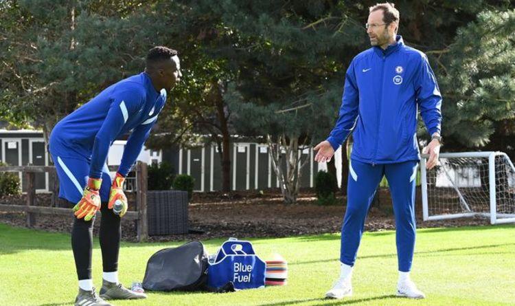 Chelsea goalkeeper Edouard Mendy lifts lid on Petr Cech training ahead of Man Utd showdown
