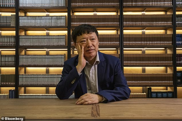 Hu Xijin (pictured in file photo taken on June 5, 2019), the editor-in-chief of the Global Times, a major Chinese tabloid and mouthpiece of the Communist Party, said that President Trump and his wife ¿paid the price for his gamble to play down the COVID-19¿