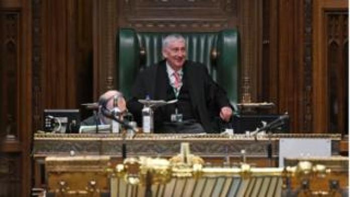 Commons Speaker Sir Lindsay Hoyle