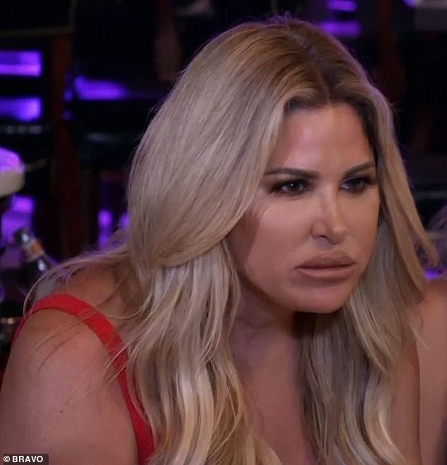 Sick father: Kim Zolciak learned that her estranged father Joseph had cancer during a family road trip on Tuesday's season eight premiere of Don't Be Tardy on Bravo