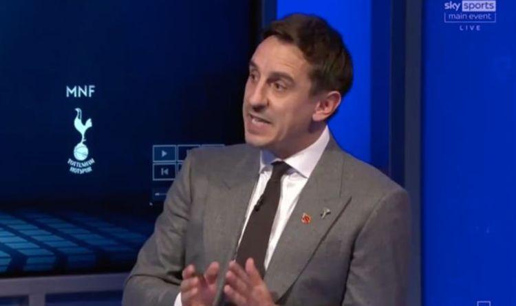 Gary Neville explains Man Utd boss Solskjaer's 'issues' with Pogba and Van de Beek