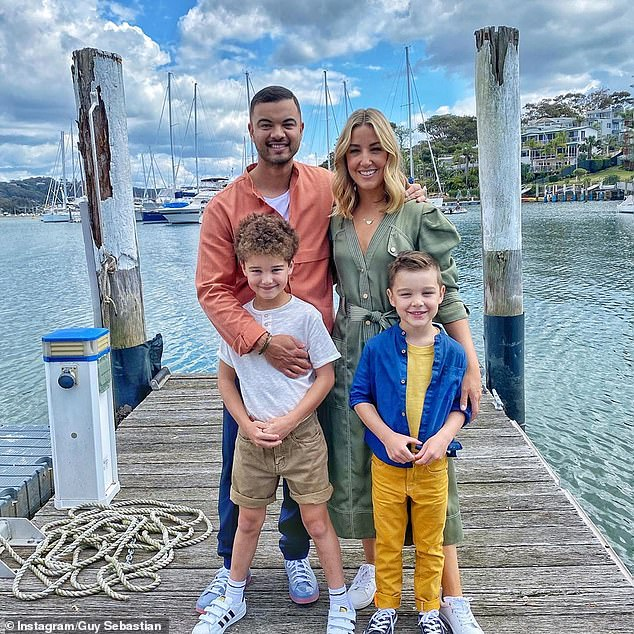 'You are incredibly kind and selfless': Guy Sebastian shared a sweet tribute to his wife Jules as she celebrated her birthday on Wednesday