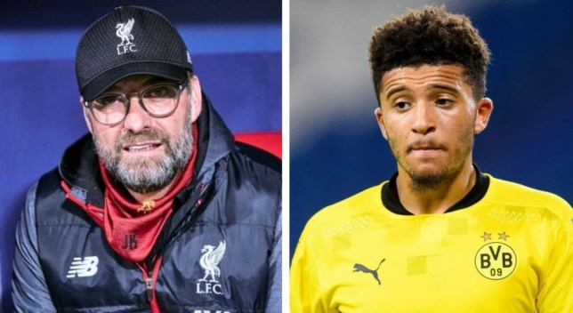 Liverpool continue to be linked with a move for Jadon Sancho