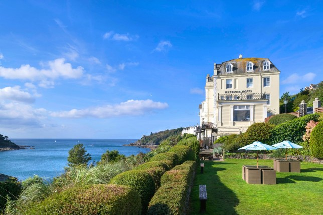 Fowey Harbour Hotel, Cornwall Standard Doubles from ?215 per room, per night BB / Seaview Doubles from ?240 per room, per night BB. www.harbourhotels.co.uk