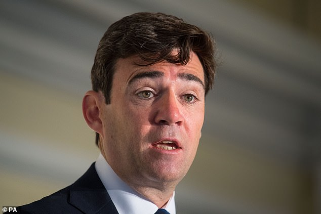 """Mayor of Greater Manchester, Andy Burnham who has said decisions on easing or tightening local coronavirus lockdown restrictions should not be """"imposed"""" by the Government"""