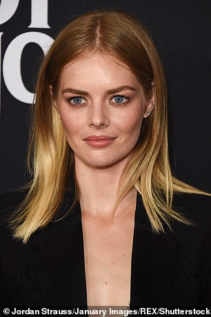 Seeing double! Samara Weaving has now revealed that she is regularly approached by excited fans who believe they're meeting the Oscar-nominated actress, Margot Robbie [R]