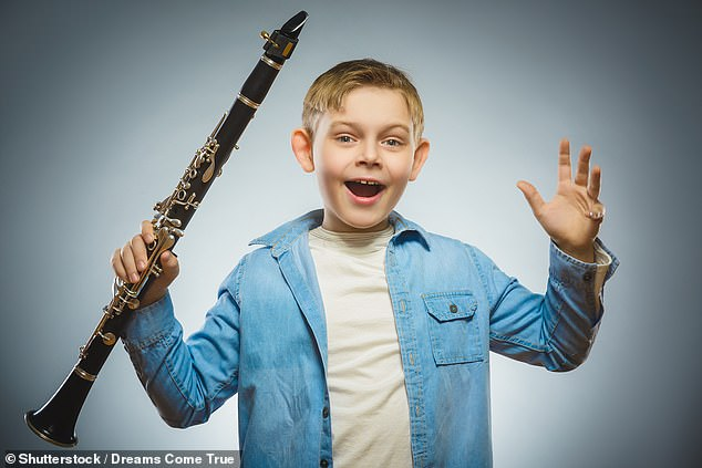 Learning to play an instrument as a child — like, for example, the bassoon — can help you focus for longer and remember more throughout life, a study has concluded (stock image)