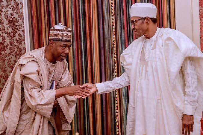 Palliatives: Buhari lauds Borno gov's leadership style