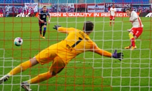 Marcel Sabitzer marked his return to the side with the penalty that proved to be the winner against Hertha Berlin.