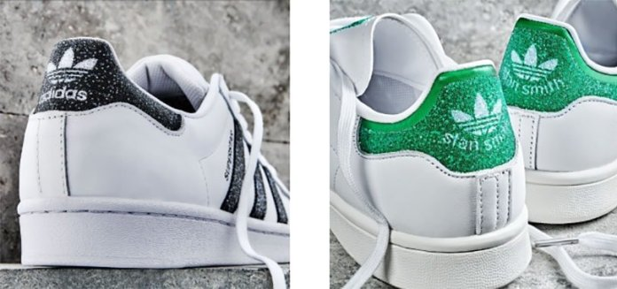 Swarovski and adidas join creative forces to add sparkle to iconic sneakers