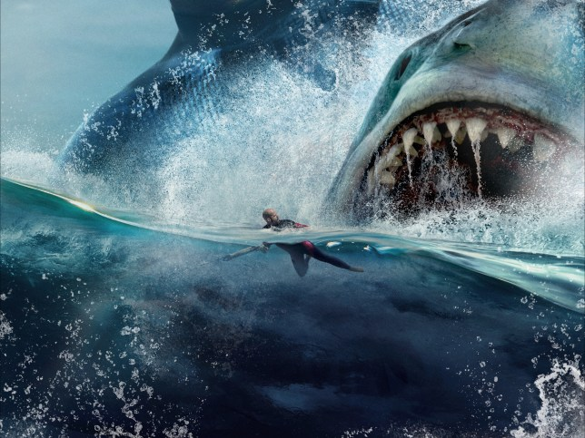 The Meg is probably most famous for attacking Jason Statham back in 2018 (Credit: WB)