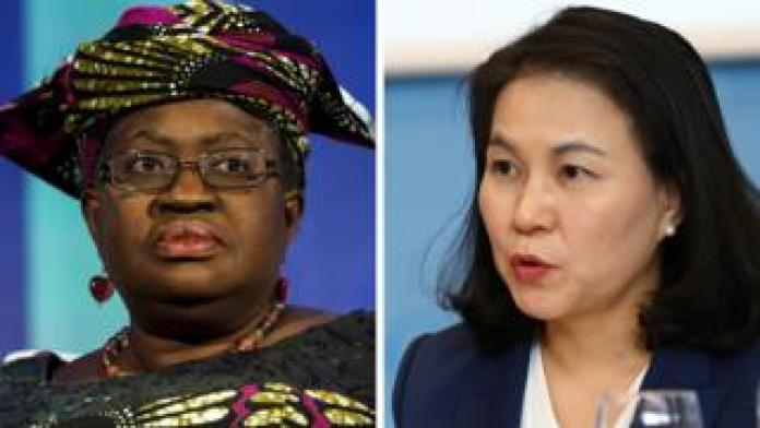 Ngozi Okonjo and Yoo Myung-hee