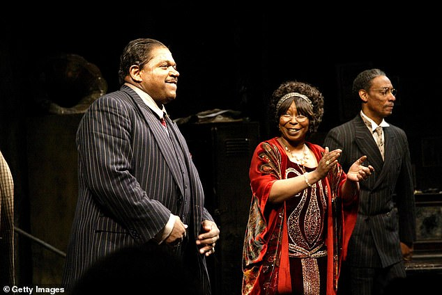 In addition to his time on the silver screen, Byrd also enjoyed an impressive theater career, receiving a Tony Award nomination for Best Actor in 2003 for his performance in Ma Rainey's Black Bottom. Byrd is seen far right on the opening night of that show