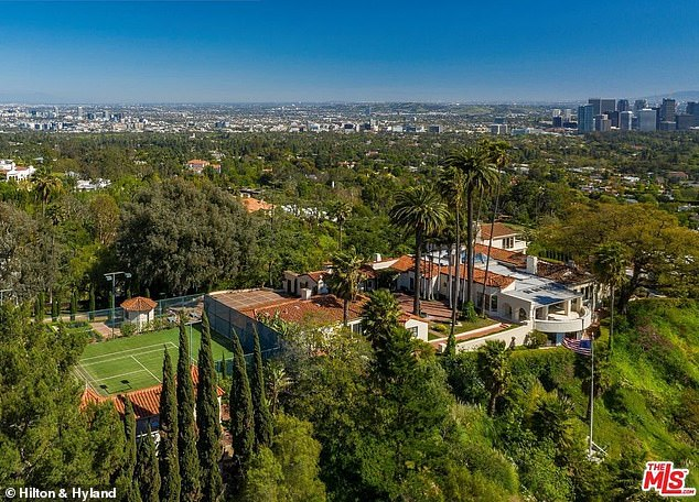 Compound:The 16-time NBA All-Star finalized the deal on a Beverly Hills compound for $36.8 million last Wednesday, according to Variety