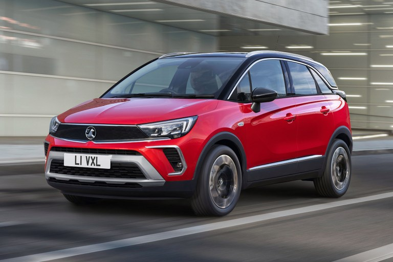 New 2021 Vauxhall Crossland goes on sale priced from £19k