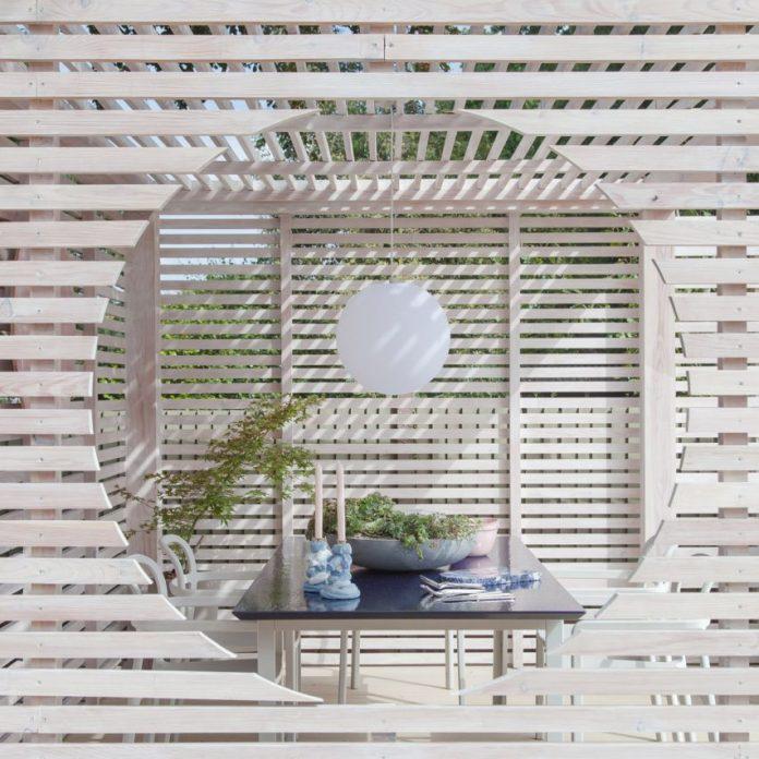 Garden pavilion by 2LG Studio