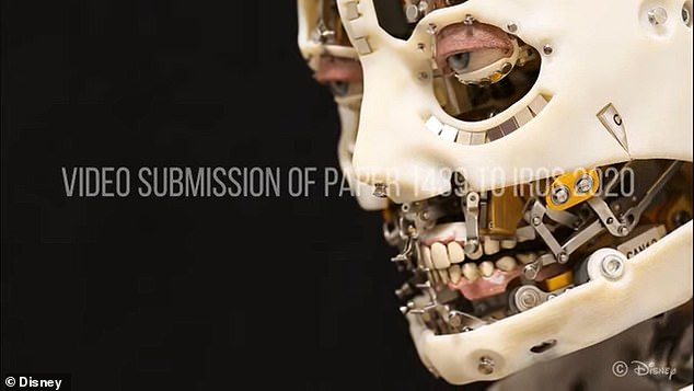 The robot has 19 degrees-of-freedom, but only makes use of its neck, eyes, eyelids and eyebrows -all of which are controlled by a proprietary software operating on a 100Hz real-time loop