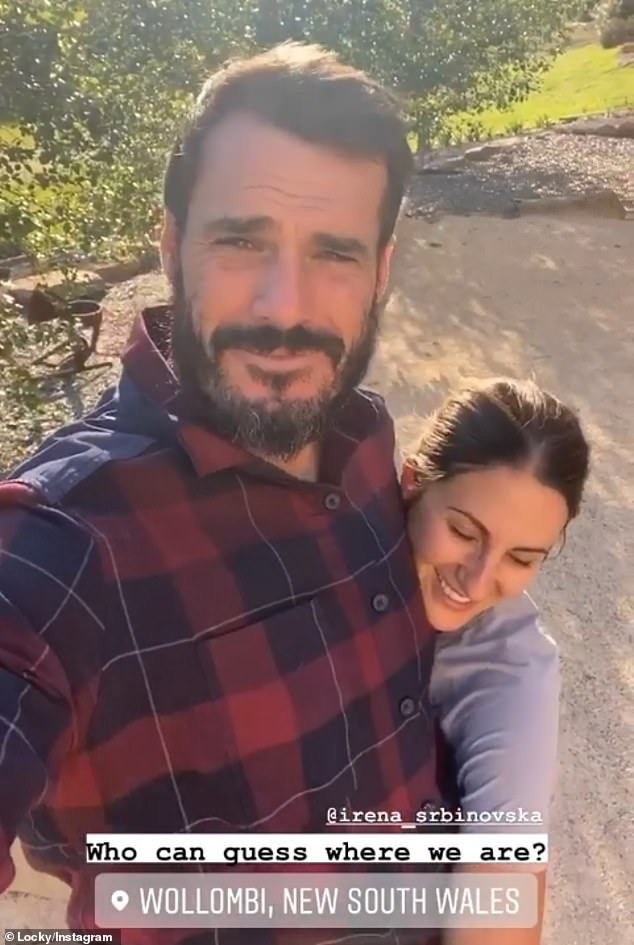 Coincidence:Since the Bachelor finale aired last month, Irena and Locky have been spending time together in Sydney and country New South Wales
