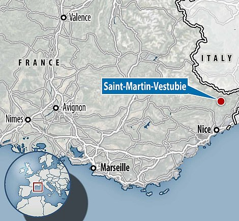 Saint-Martin-Vestubie is located in the south of France, 25 miles north of Nice and close to the Italian border