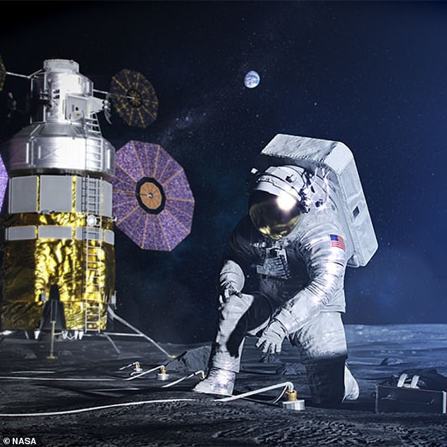 Astronauts will spend a full week on the Moon in 2024 but this will increase dramatically over time, with the eventual goal of having a permanent base on the natural satellite