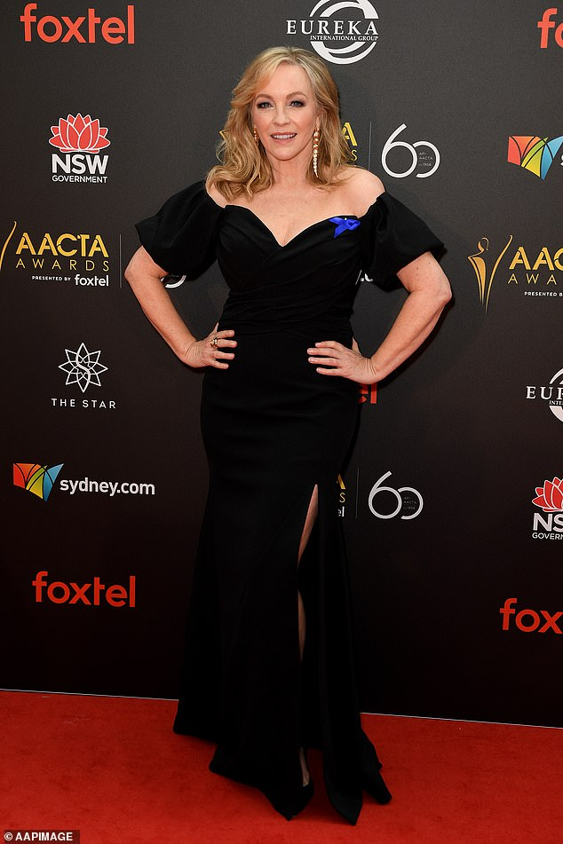 Acclaimed: The New Zealand-born star has also won four Logie Awards, including the prestigious Gold Logie in 2009. Pictured at the AACTA Awards in 2018