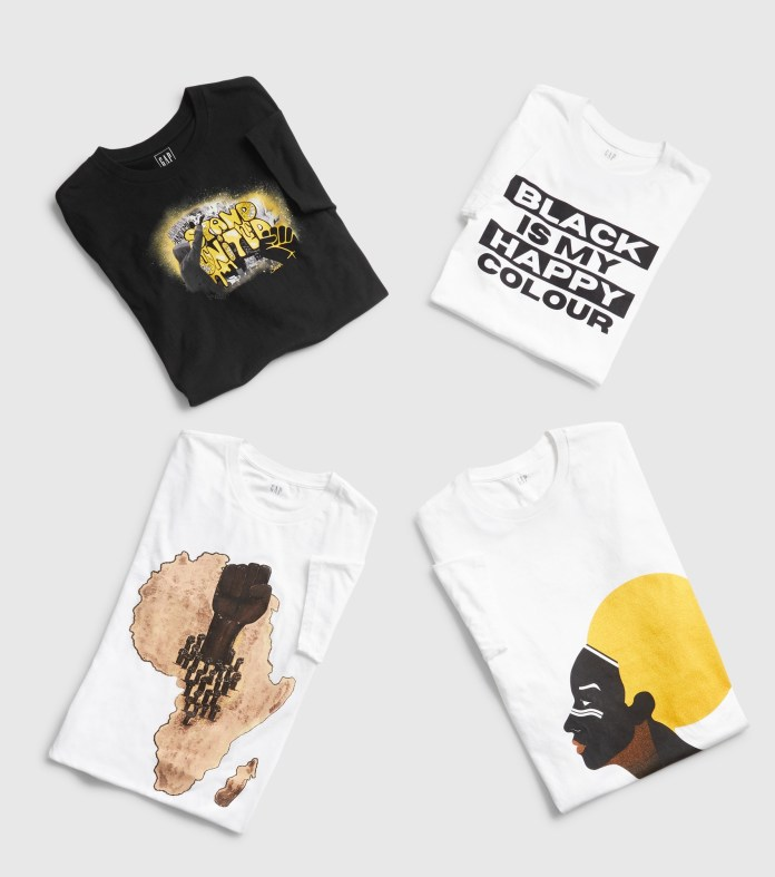 Gap supports Black History Month with T-shirt collaboration