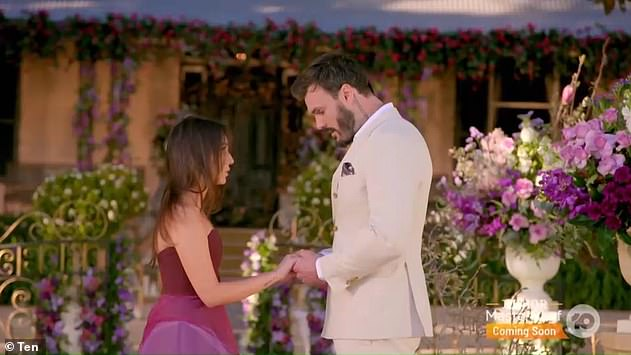 Brutal:Bella was unceremoniously dumped by Locky Gilbert during the show's finale in one of the most brutal Bachelor breakups