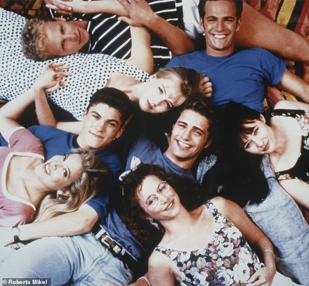 Legendary: The cast of the Fox teen drama in the '90s