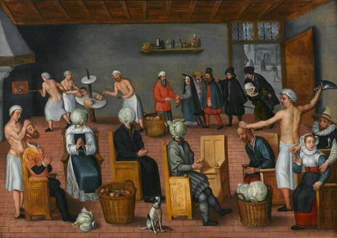'The Legend of the Baker of Eeklo' by Jan van Wechelen (c.1570-80)