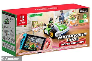 Mario Kart Live: Home Circuit for Nintendo Switch will cost £99.99