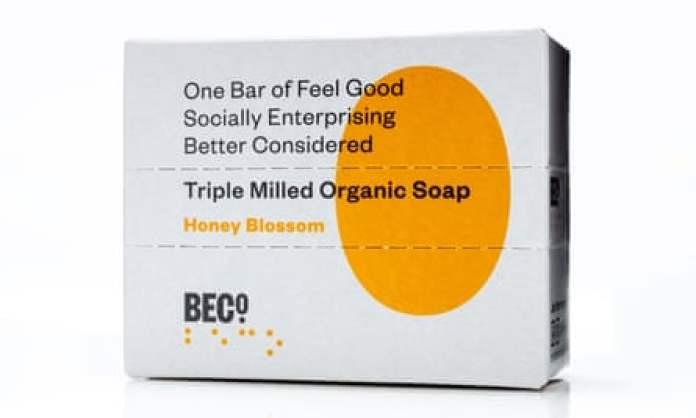 BeCo soap bar in Honey Blossom