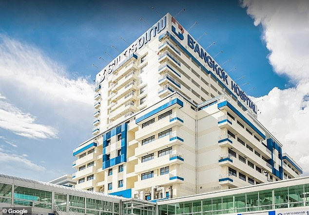 The Bangkok Hospital where the Thai monarch may have been treated this week amid claims that one of his bodyguards tested positive for Covid-19