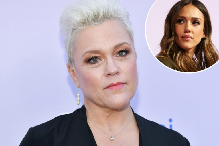 90210's Christine Elise apologizes to Jessica Alba after slamming her as 'f***king insane' after harsh claim about show