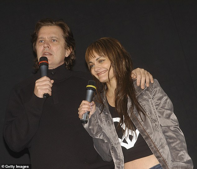 Blast from the past: Hosted by Mark and his daughter Katie, The Idol Archives will uncover dramatic moment viewers didn't see on-screen. Pictured with contestant Cosima De Vito in Melbourne in November 2004